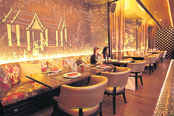 The 150 Seat Dining Elishment Boasts Authentic Thai Cuisine With Molecular Twist