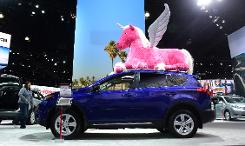 SUVs rule the road at LA auto show