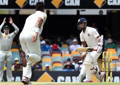 Johnson inspires Australia to Gabba Test victory