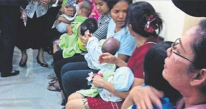 Surrogate babies' fate still up in air