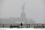 New York 'epic' storm