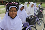 Bikes for students in South