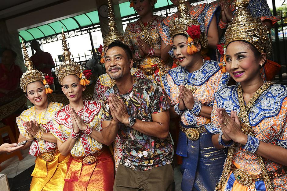 feest Thais borst