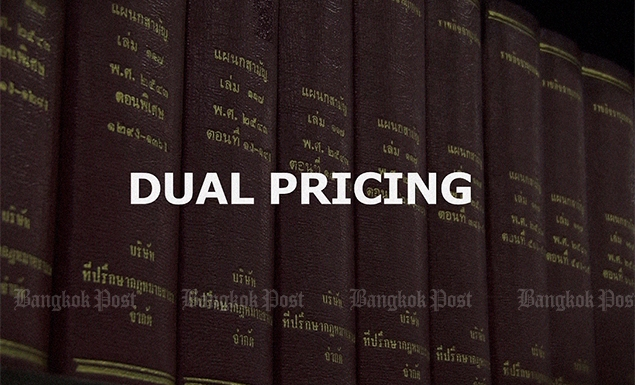 Dual pricing