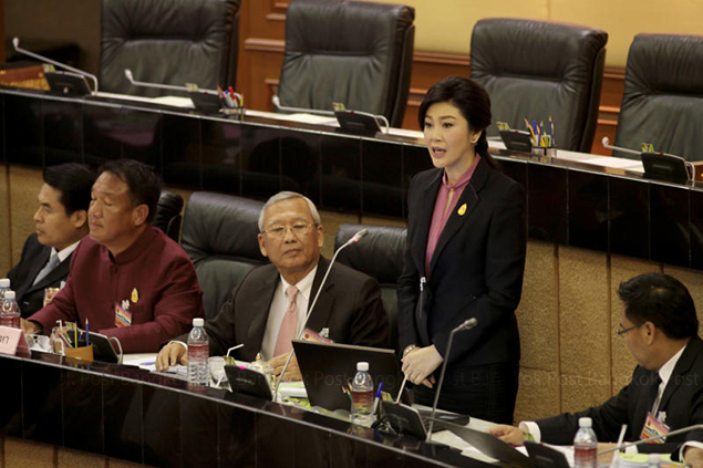 Yingluck defends rice scheme