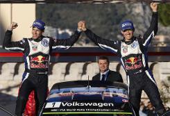 Ogier claims 'magical' Monte Carlo Rally