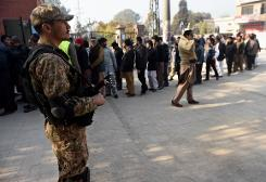 At least 12 killed in Pakistan Shiite mosque bombing