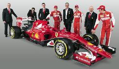 Ferrari unveil car to power team back to F1 glory