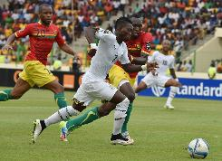 Ghana into semi-finals with Atsu at double