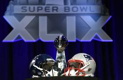 Super Bowl puts American football fans on seat's edge