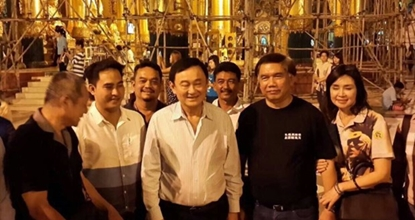 Thaksin seen in Myanmar