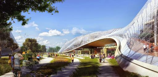 Google hits back at rivals with futuristic HQ plan