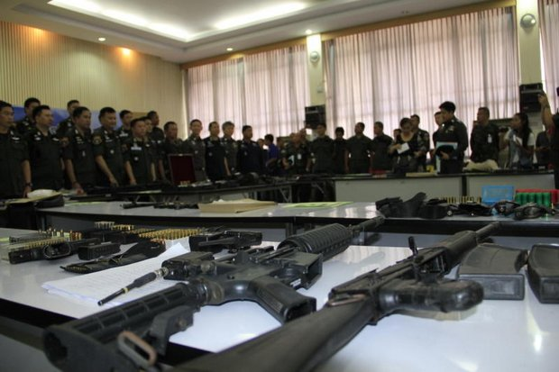 Task force raid nets illegal weapons haul