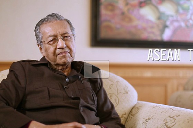 Mahathir on Asean and more