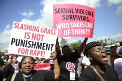 Kenya 'grass cutter' gang rapists jailed for 15 years