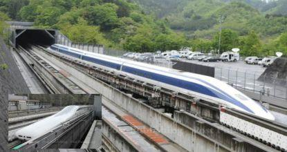 Japan high-speed train sets by speed record (with video