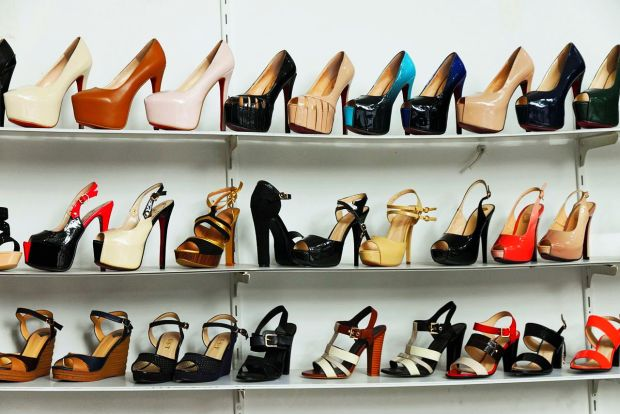 High heels come in a wide variety of heel heights and styles. (Source:  Wikipedia) - High Heels & Flip Flops: Be Careful Bangkok Post: Learning