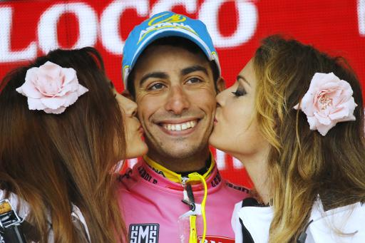 Unlucky 13 for Contador as Aru takes Giro lead