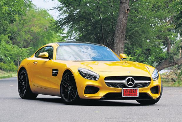 German Muscle Car Bangkok Post Auto