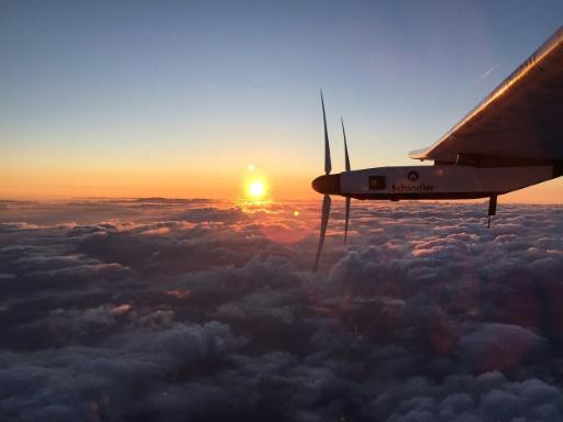 Solar Impulse beats new record, but pilot 'tired'