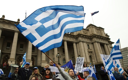 Australia solidarity rallies ahead of Greek bailout vote