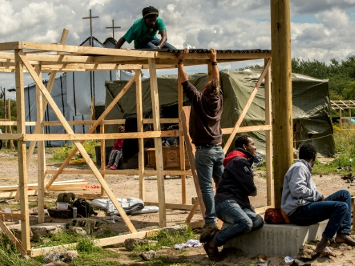 In the 'New Jungle' of Calais: a school, a church and a clinic
