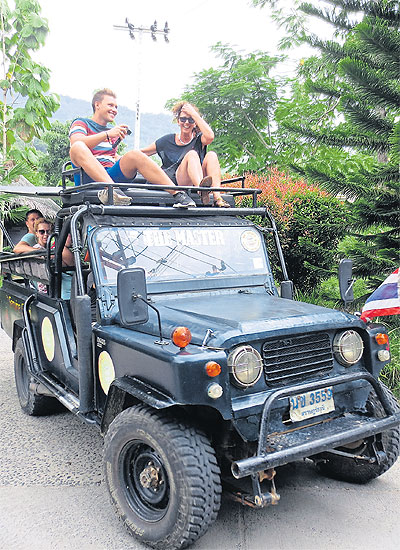 Off-road and out of control   Bangkok Post: news