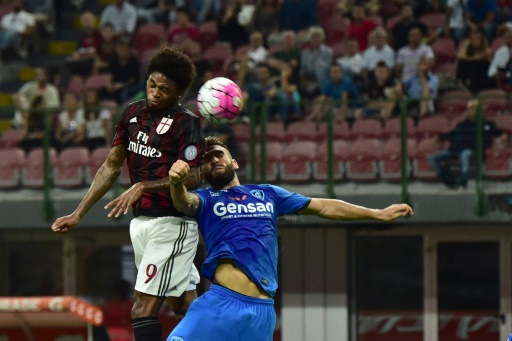 Bacca, Adriano on target in Milan win