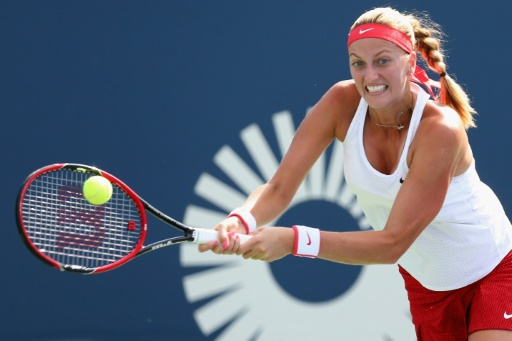 Kvitova downs Safarova for New Haven three-peat