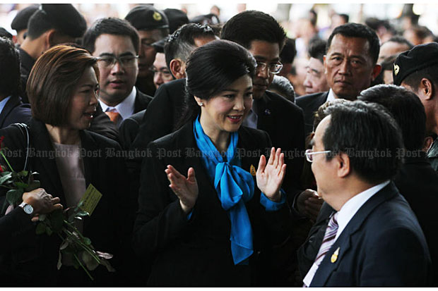 Court rejects Yingluck's petitions at rice trial