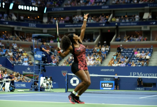 Serena says she's not on edge but 'I'm not a robot'