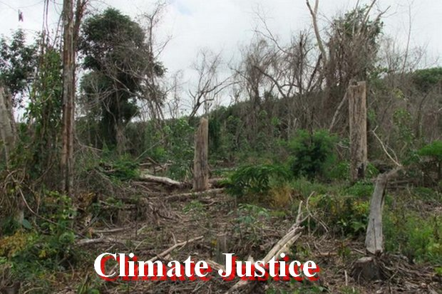 Climate justice packs punch