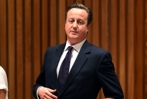 British PM dismisses claims he is a sports 'curse'
