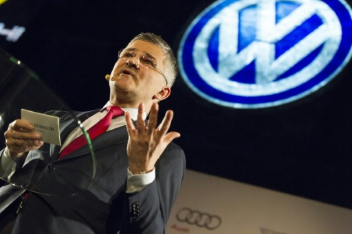 VW executive apologises to US Congress for emissions cheating