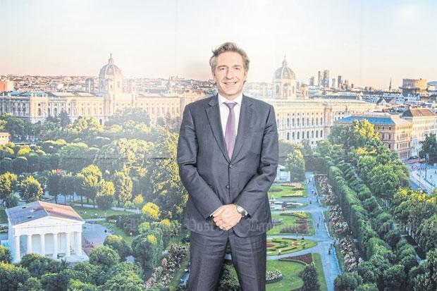Посол Австрии Энно Дрофеник