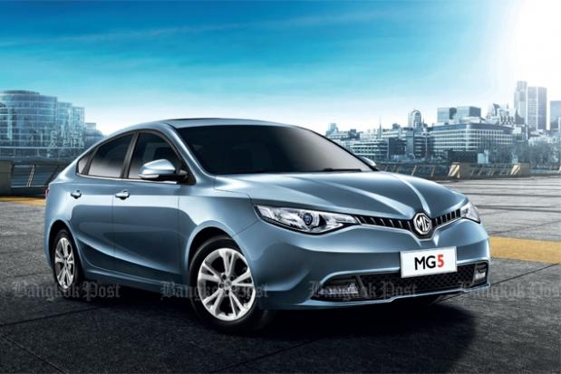 MG5 saloon targets City and Vi...