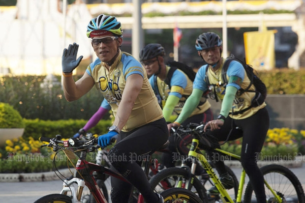 Prince, Princesses lead 'Bike for Dad' cyclists