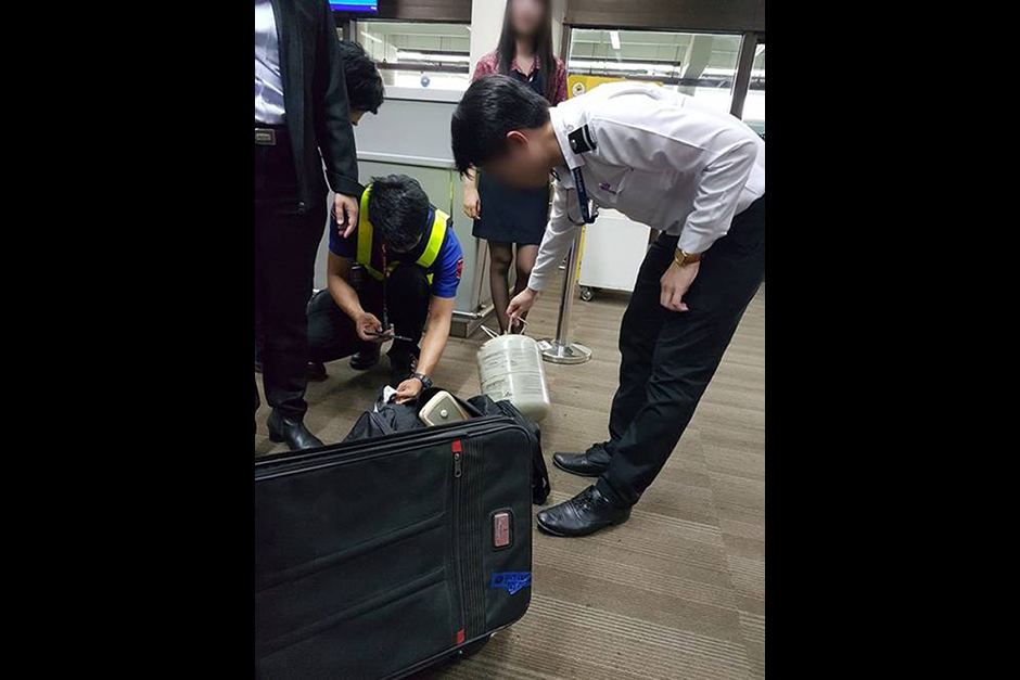 Gas canister found at Don Mueang airport