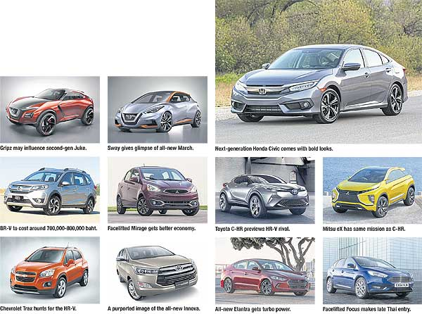 new car 2016 thaiBangkok Post article