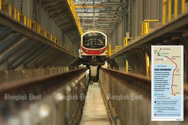 New Airport Rail Link to include Don Mueang & U Tapao   Bangkok Post:  learning
