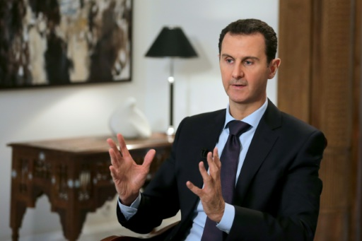 AFP EXCLUSIVE: Assad vows to retake whole country, warns could 'take long time'
