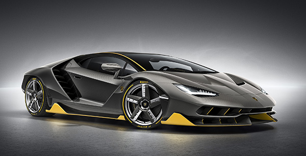 Lamborghini Centenario debuts at Geneva Motor Show