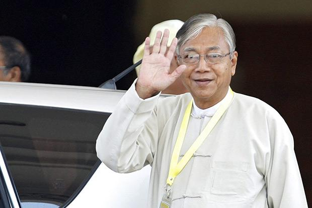 Htin Kyaw elected Myanmar president