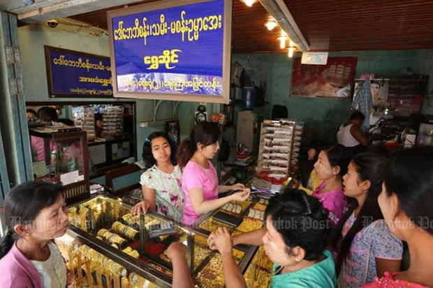 Gold smuggling thrives across Myanmar's borders