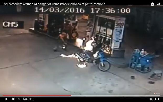 Don't charge phone under motorcycle seat | Bangkok Post