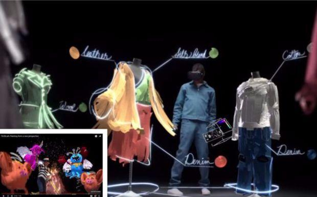 virtual reality meets digital art google 39 s tilt brush bangkok post learning. Black Bedroom Furniture Sets. Home Design Ideas