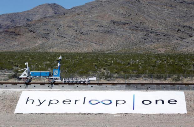 Hyperloop shows off super-speed technology