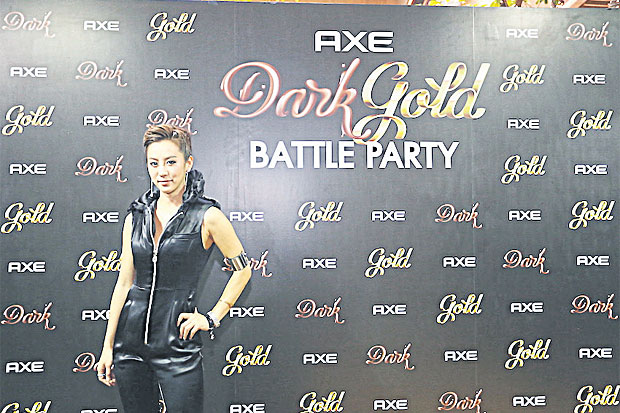 Axe Dark-Gold Battle Party