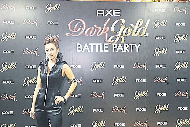 Axe Dark-Gold Battle Party
