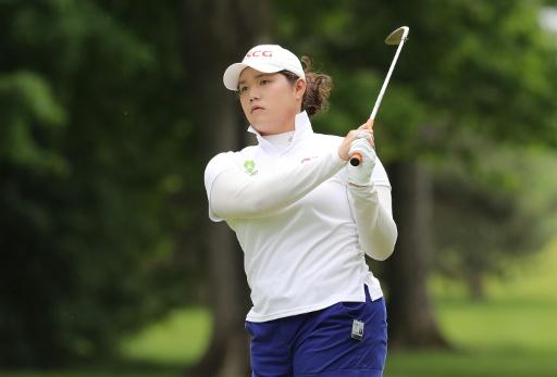 Ariya grabs lead in bid for third LPGA win in a row